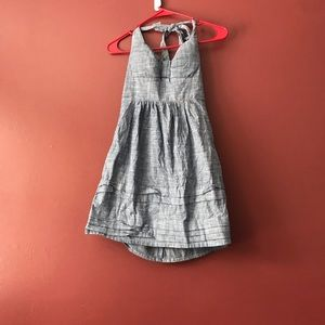 B. Smart Chambray Halter Style Dress - 4